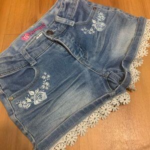 Beautees girls shorts 7